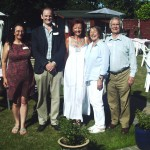 SOS Committee Members and Douglas Carswell at the Summer Garden Party.